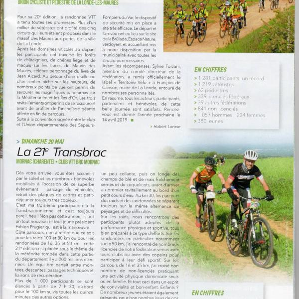 21e transbrac 20 5 2018 cyclotourisme
