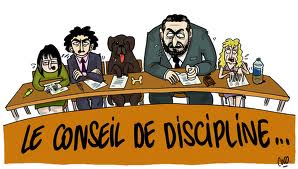 Conseil de discipline 1