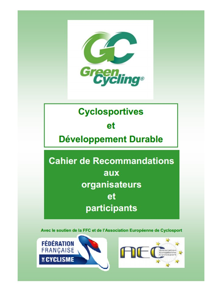 Cyclosportive et developpement durable