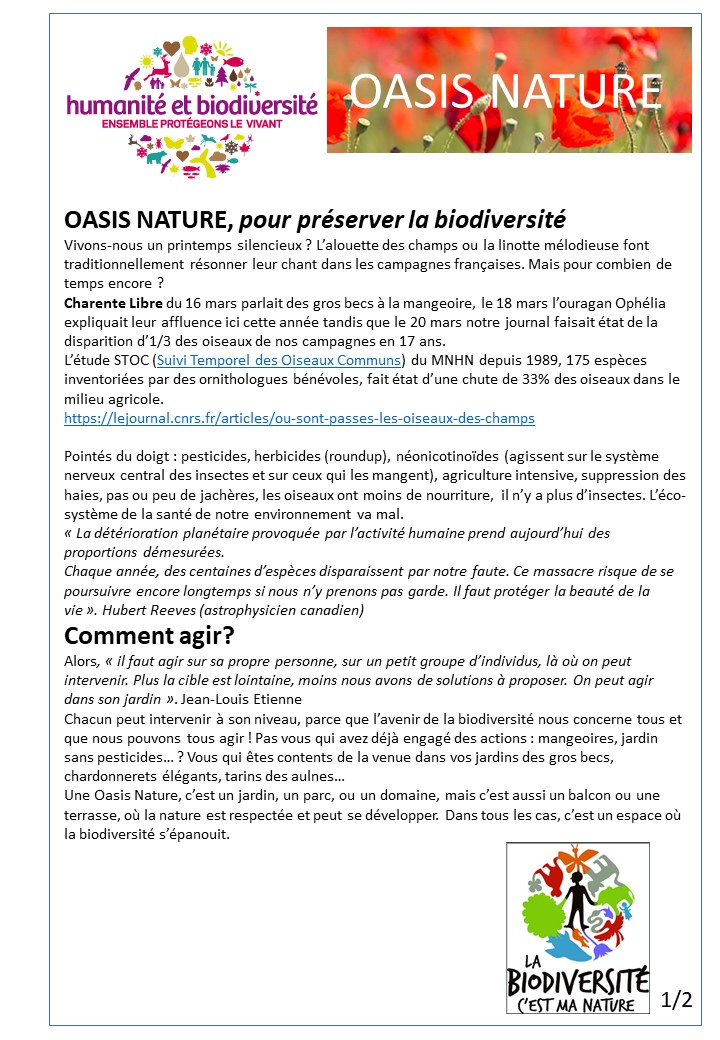 Humanite biodiversite oasis nature1 2